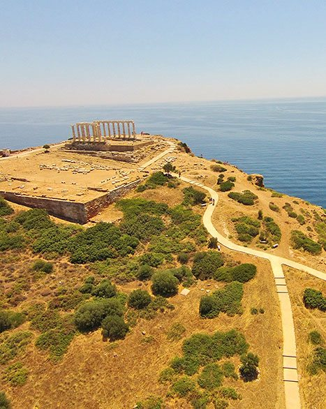 Cape Sounio - Sailing Athens