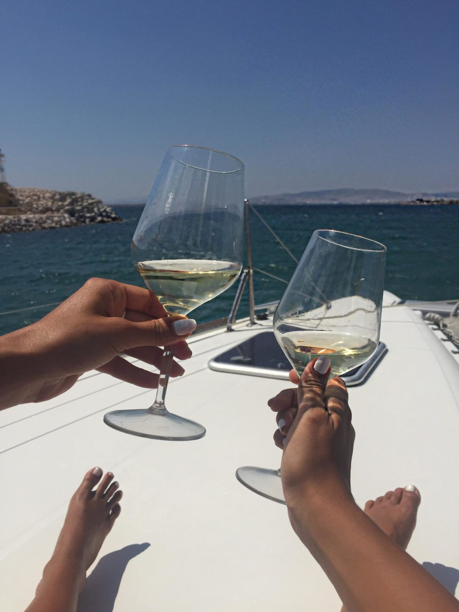 Sailing Athens Local Wine